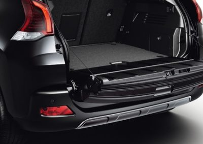 Car trunk compartment